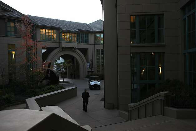 Haas hall closed for investigation after a man was shot by a UC police officer around 2:30pm on the UC Berkeley campus in Berkeley, Calif.,  on Tuesday, November 15, 2011. Photo: Liz Hafalia, The Chronicle