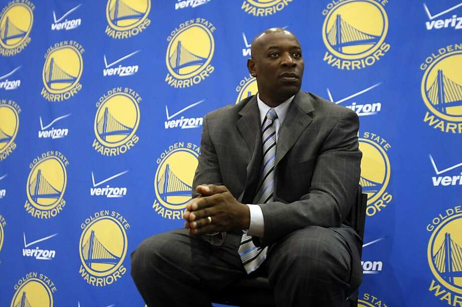 Keith Smart fields questions as he is introduced as the new Golden State Warriors head coach during an NBA basketball news conference in Oakland, Calif., Monday, Sept. 27, 2010. (AP Photo/Marcio Jose Sanchez)  Ran on: 10-05-2010 First-year Warriors head coach Keith Smart wants his team to work smarter as well as harder, and it shows in practice. Ran on: 10-05-2010 First-year Warriors head coach Keith Smart wants his team to work smarter as well as harder, and it shows in practice. Photo: Marcio Jose Sanchez, AP