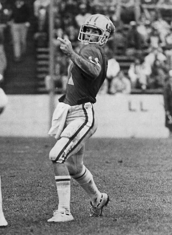 Walk-on quarterback J Torchio led Cal's upset of Stanford in 1980. Photo: Courtesy Cal Athletics