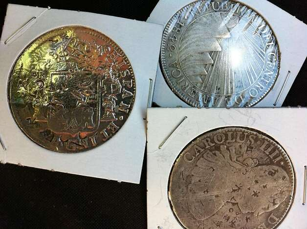"A San Jose man discovered $500,000 worth of pirate treasure in a Contra Costa County storage unit he bought from American Auctioneers, the company featured on A&E's ""Storage Wars."" Photo: A&E"