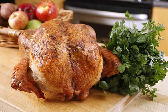 Bestway air dried turkey as seen in San Francisco, Calif., on November 10, 2010. Food styled by Lindsay Patterson.