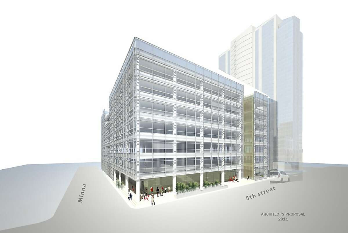 Conceptual drawing of the new building being purchased by University of the Pacific gives a general idea how the new space will be used. The building, located in the SOMA district of San Francisco at Fifth and Minna, will house the Arthur A. Dugoni School of Dentistry and other University programs.