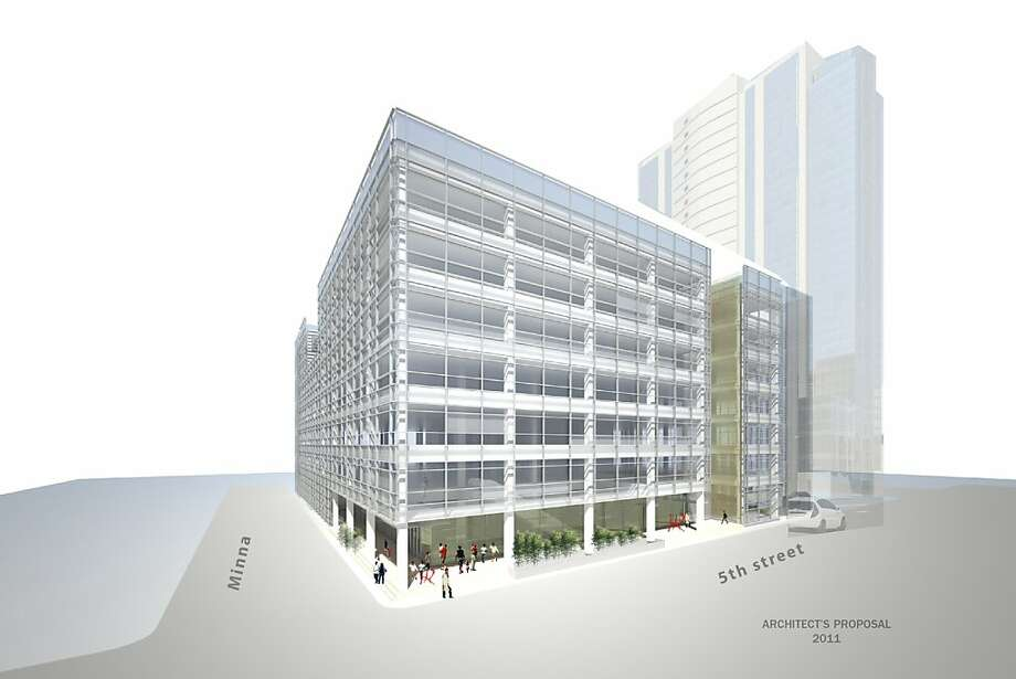 Conceptual drawing of the new building being purchased by University of the Pacific gives a general idea how the new space will be used. The building, located in the SOMA district of San Francisco at Fifth and Minna, will house the Arthur A. Dugoni School of Dentistry and other University programs. Photo: University Of The Pacific