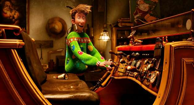 Arthur (voiced by James McAvoy) in ARTHUR CHRISTMAS, an animated film produced by Aardman Animations for Sony Pictures Animation. Photo: Aardman Animations For Sony PIct