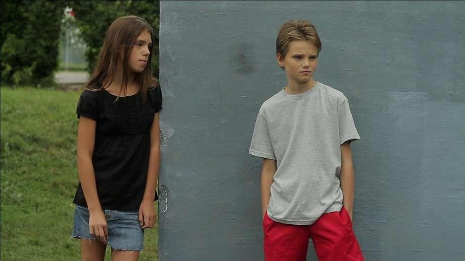 "Jeanne Disson as Lisa & ZoŽ Heran as Laure/Mikael in, ""Tomboy."" Photo: Hold Up Films, Rocket Releasing"