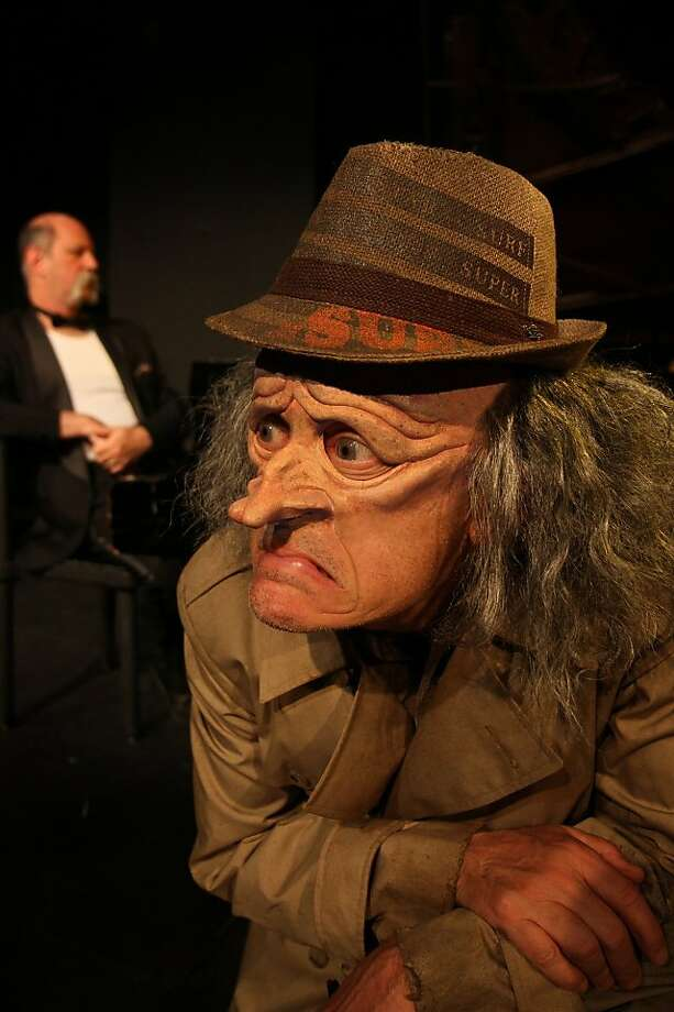 The Residents' Randy Rose is Sam,  a bum of questionable  sanity who drags a bar's piano player on a surreal musical journey. Photo: Josh Keppel