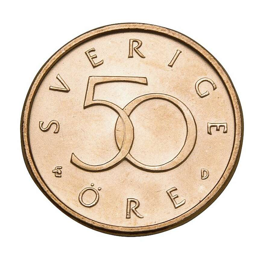 50 ore swedish coin no longer in circulation Photo: Handout