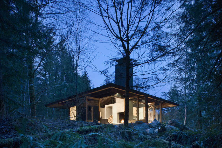 39. Skykomish: Renters in this King County community paid $800 a month on average in rent. About 50.0 percent of residents paid more than 35 percent of their income in rent. Photo: Tim Bies/Olson Kundig Architects