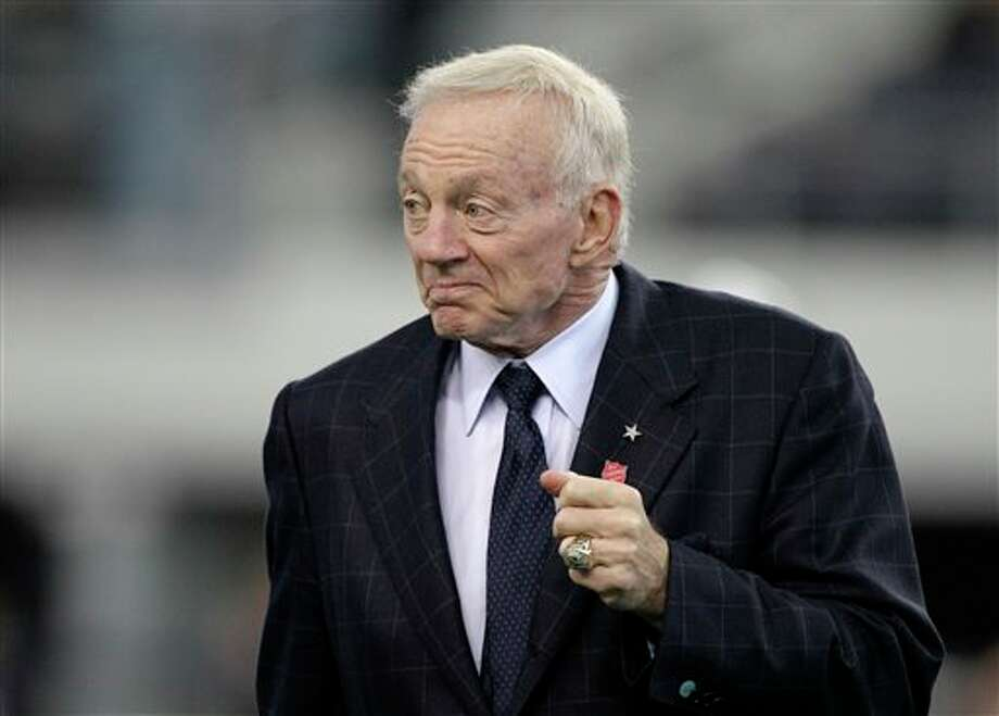 "Cowboys owner Jerry Jones says: ""Fear is a great motivator, great, and especially in this sport."" (AP Photo/Matt Strasen) Photo: Associated Press"