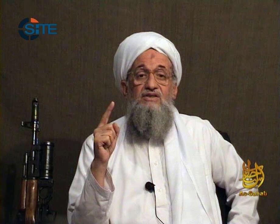 AFP / GETTY IMAGES FILES TARGET: Ayman al-Zawahiri has succeeded al-Qaeda leader Osama bin Laden. Photo: HO / AFP