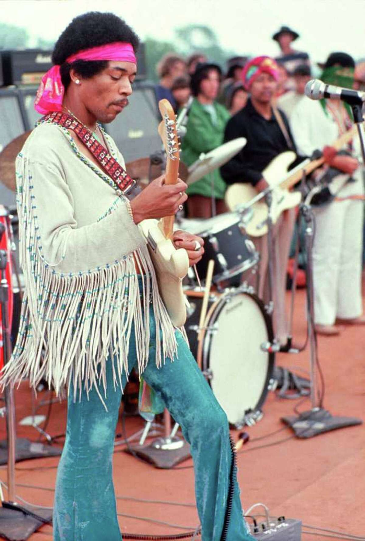 High point The band played a famous set at Woodstock in 1969.