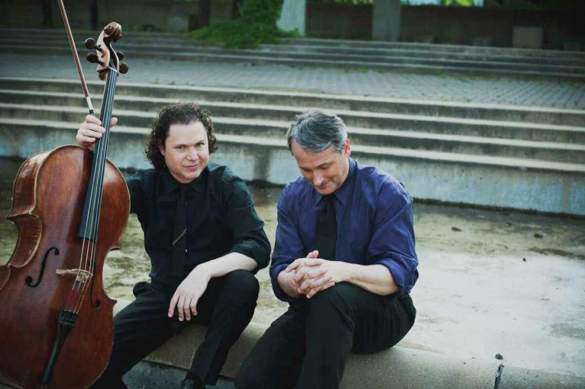 Shuffle-Play-Listen is by Matt Haimovitz and Christopher O'Riley (Sarah Scott)