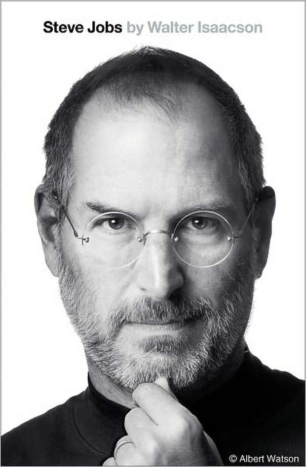 Cover for Steve Jobs by Walter Isaacson Photo: Xx