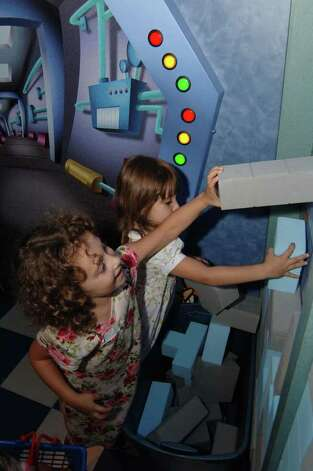 """Cyberchase - The Chase Is On!"", an educational exhibition focusing on math and problem solving, is on view at the Stepping Stones Museum for Children in Norwalk. Photo: Contributed Photo"