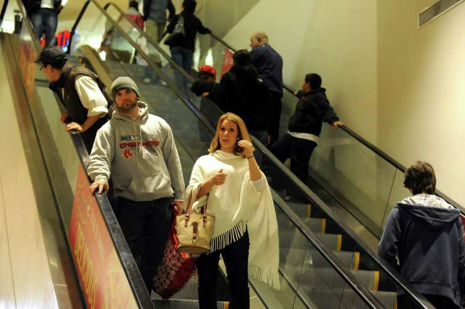 Shoppers look for bargains at The Westfield Connecticut Post Mall on Black Friday, Nov. 25, 2011. Photo: Autumn Driscoll / Connecticut Post