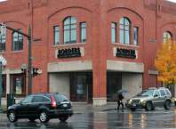 The former Border's book store, now an empty building, on Broadway in Saratoga Springs Wednesday Nov. 16, 2011.   (John Carl D'Annibale / Times Union)