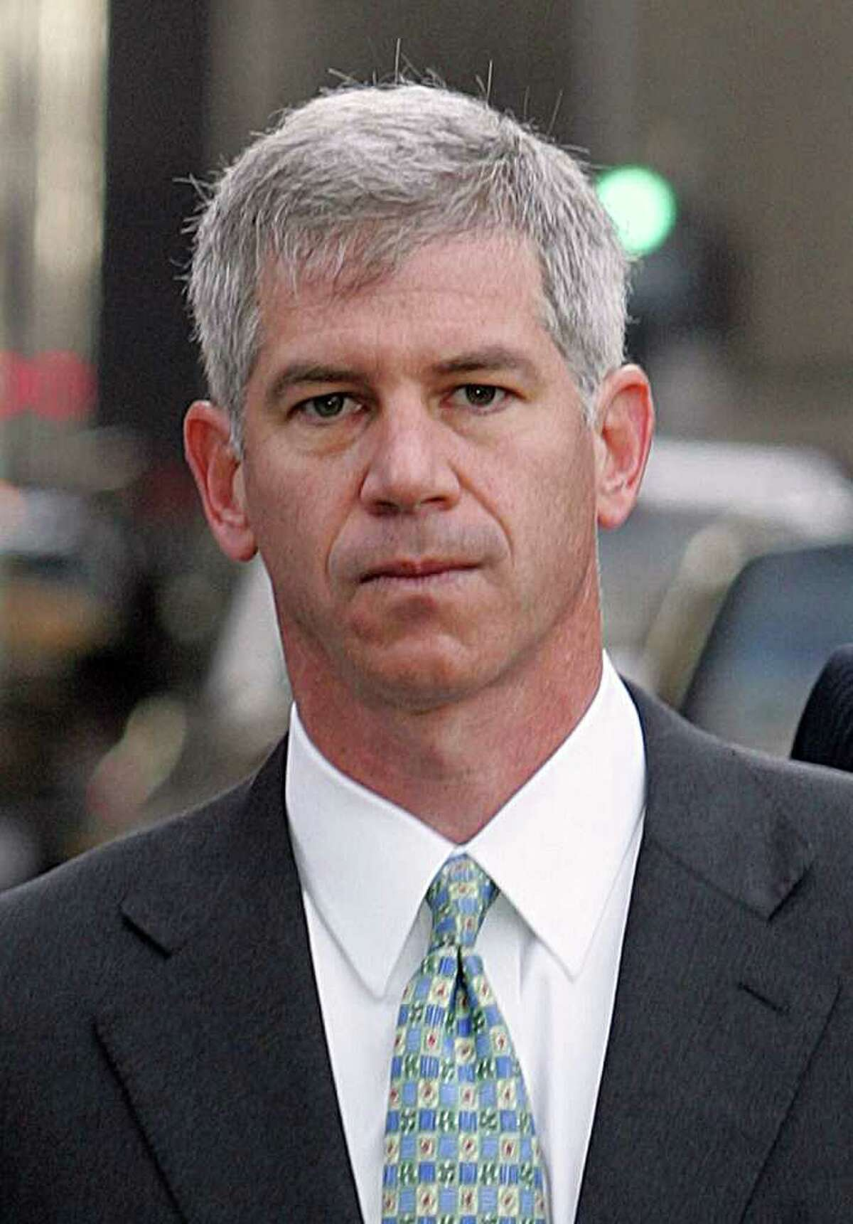 (FILES) Former Enron Chief Financial Officer Andrew Fastow arrives at the Bob Casey Federal Courts Building in Houston, Texas, in this March 8, 2006 file photo. The Federal Bureau of Prisons reported on May 18, 2011 that Fastow has been transferred from prison to a halfway house. This is the last stage of incarceration before his scheduled release later in 2011. AFP PHOTO/James NIELSEN/FILES (Photo credit should read JAMES NIELSEN/AFP/Getty Images)