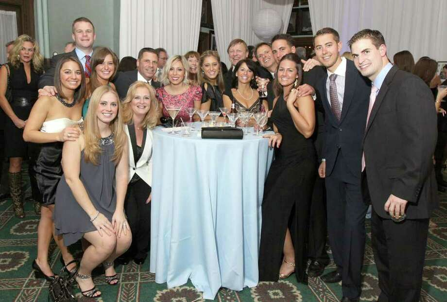 Were you Seen at the 13th Annual St. Peter's Hospital Foundation Holiday Kickoff at the Fort Orange Club on Friday, Nov. 25? Photo: Joe Putrock/Special To The Times Union
