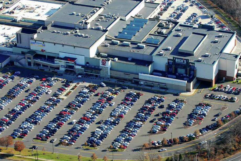 The Westfield Connecticut Post mall was crowded on Black Friday, Nov. 25, 2011. Photo: Morgan Kaolian/AEROPIX