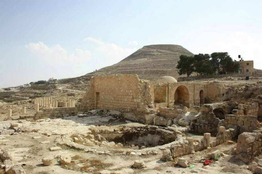 SAMUEL SOCKOL : WASHINGTON POST WHO IS IN CHARGE?: Herodium, a site south of Bethlehem built by King Herod, is among archaeological sites in the West Bank administered by Israeli authorities. Photo: POST / WASHINGTON POST