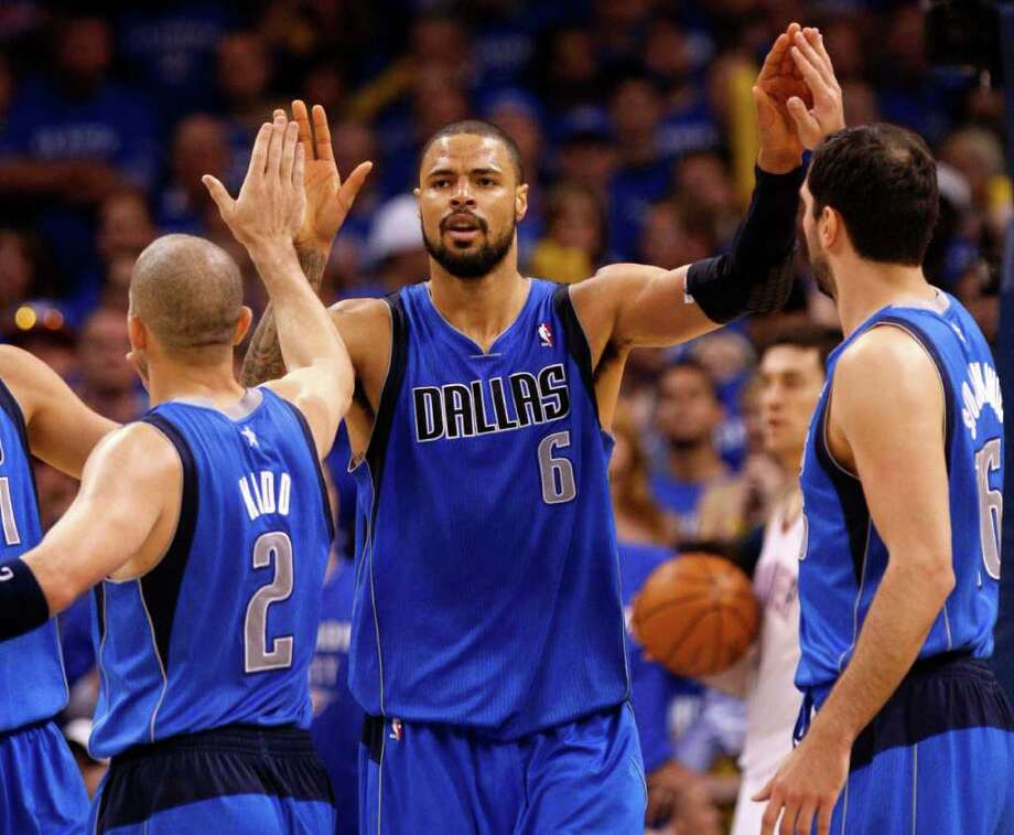 Needing size up front, Miami will be looking at Tyson Chandler. Photo: AP