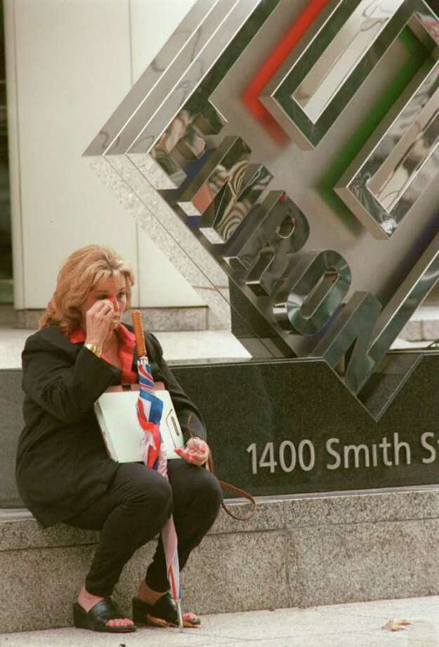 When Enron imploded on Dec. 3, 2001, the thousands of Houstonians laid off had to deal with anguish and anger. But they, and the city, moved on, and after 10 years little evidence of Enron's existence remains. Photo: Carlos Antonio Rios / Houston Chronicle