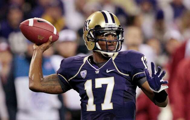 Or Washington Huskies quarterback Keith Price? Photo: AP
