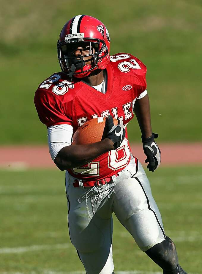 Running back Lajarie Mabrey is Washington High School's top offensive player Photo: Dennis Lee