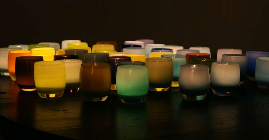 Handmade candle votives Photo: Glassybaby