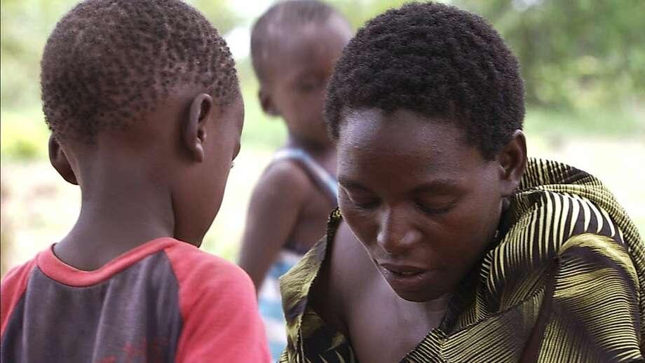 Mutinta Mweemba in THE CARRIER Photo: Constellation Tv, Www.carrierthefilm.com