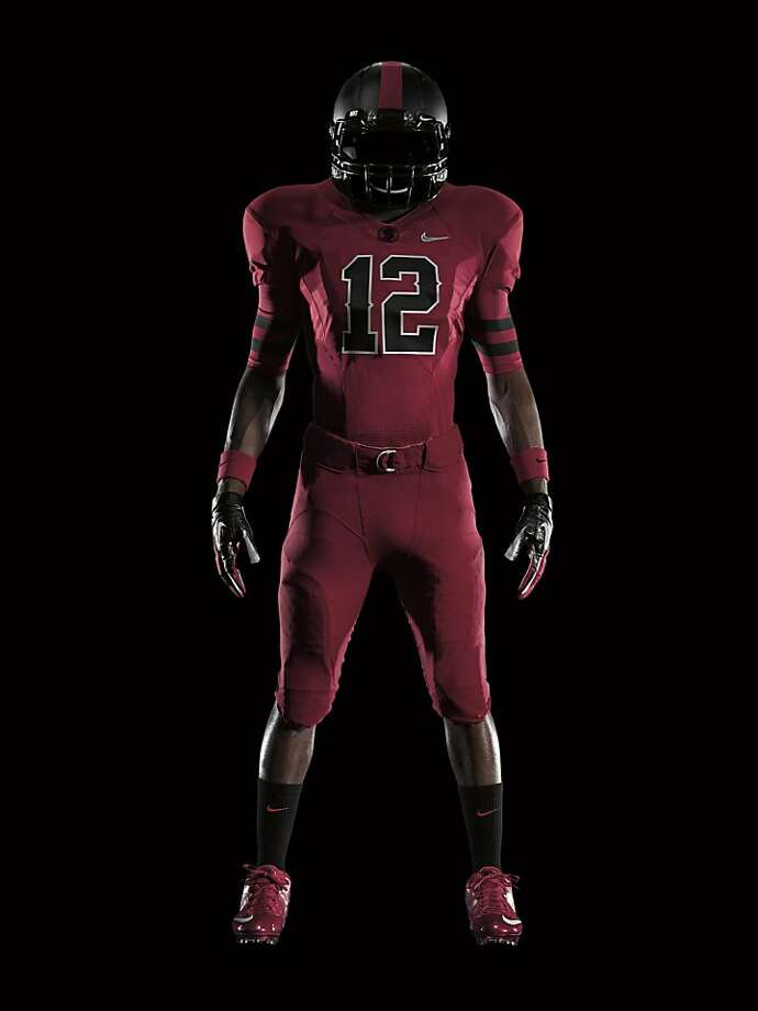 Nike released this photo of their Stanford uniform. Photo: James Golden, Nike