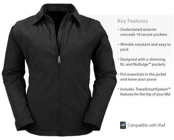 Scottevest Essential Travel Jacket. Photo: Scottevest.com