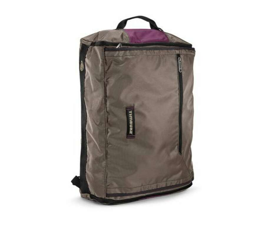 The Timbuk2 Wingman Suitcase weighs just over 3 lbs and can be carried as a messenger or backpack. Photo: Www.timbuk2.com