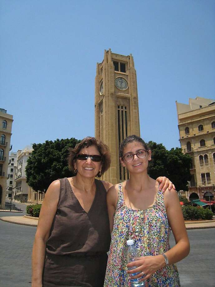 Helen Walker and Leila Walker of Berkeley in  Beirut, Lebanon. Photo: Courtesy Helen Walker