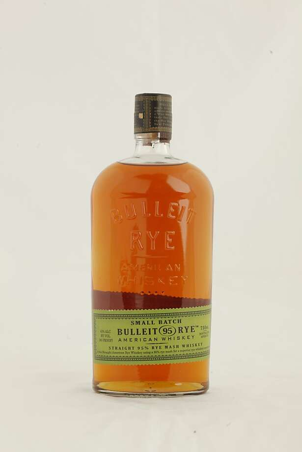 Bulleit Rye as seen in San Francisco, California, on Wednesday, November 16, 2011. Photo: Craig Lee, Special To The Chronicle