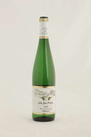 2010 Joh.Jos.Prum Reisling Kabinett as seen in San Francisco, California, on Wednesday, November 16, 2011.   Ran on: 11-27-2011 Photo caption Dummy text goes here. Dummy text goes here. Dummy text goes here. Dummy text goes here. Dummy text goes here. Dummy text goes here. Dummy text goes here. Dummy text goes here.###Photo: GIFTGUIDE27_prum_ph1321228800SFC###Live Caption:2010 J.J. Prum Mosel Riesling Kabinett###Caption History:2010 Joh.Jos.Prum Reisling Kabinett as seen in San Francisco, California, on Wednesday, November 16, 2011.###Notes:###Special Instructions: Photo: Craig Lee, Special To The Chronicle