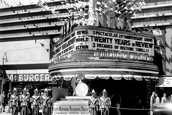 The Telenews Theater was a popular destination on Market Street, back when the area was filled with movie theaters. Sept. 30, 1959