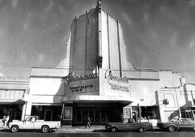 The Granada Theater on Mission Street in the Excelsior District was open until the 1980s. Oct. 5, 1981. Photo: Susan Gilbert, The Chronicle