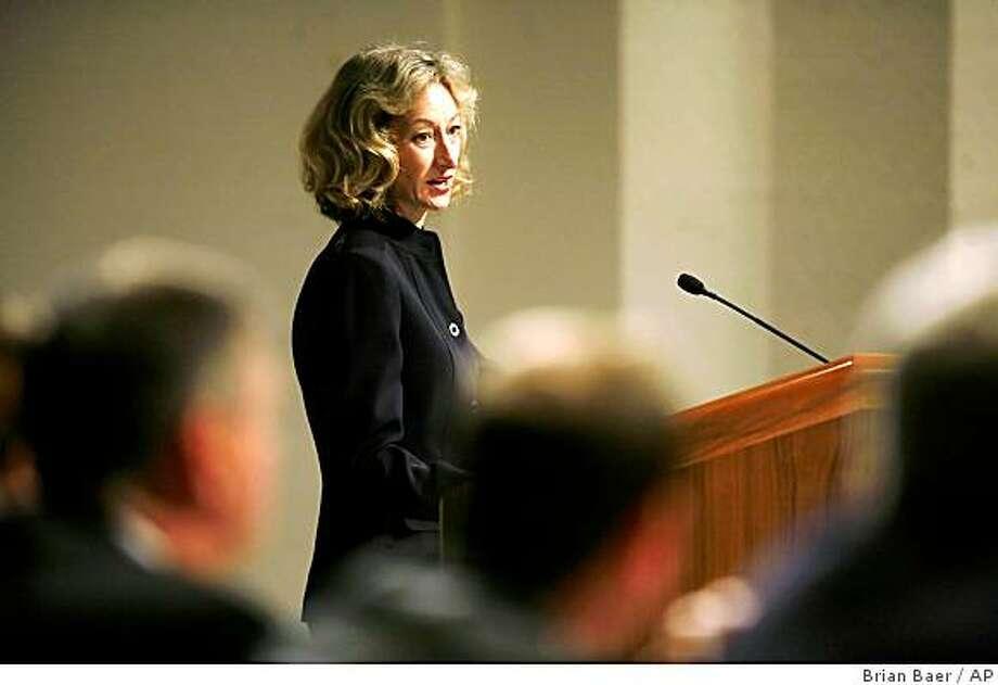 California Secretary of State Debra Bowen Photo: Brian Baer, AP