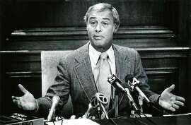 Mayor George Moscone in 1977.