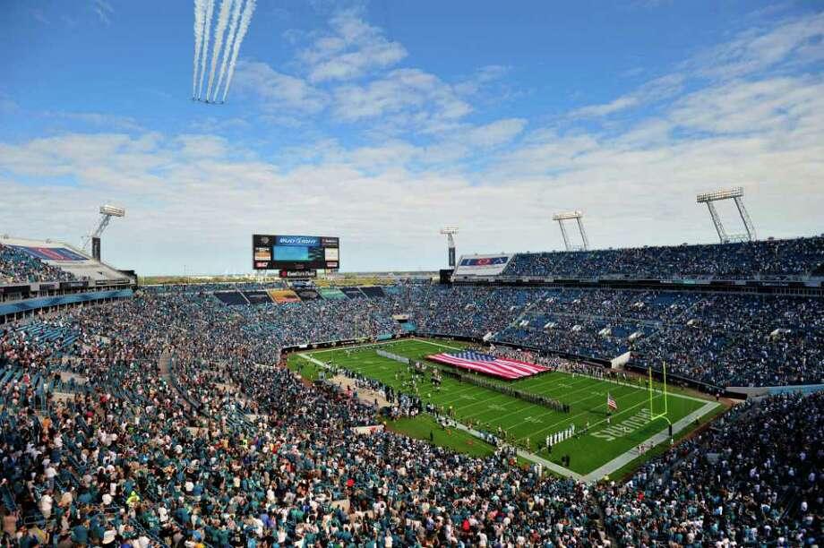 Everbank Field – Jacksonville Jaguars – $3.5 million per year. Photo: Stephen Morton, Associated Press / FR 56856 AP