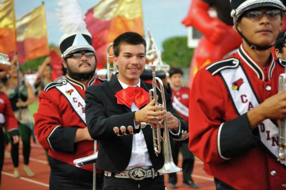 Travis Guerra, a senior and band member at Southside High School, was recently recognized by the National Hispanic Recognition Program. Photo: Courtesy Photo