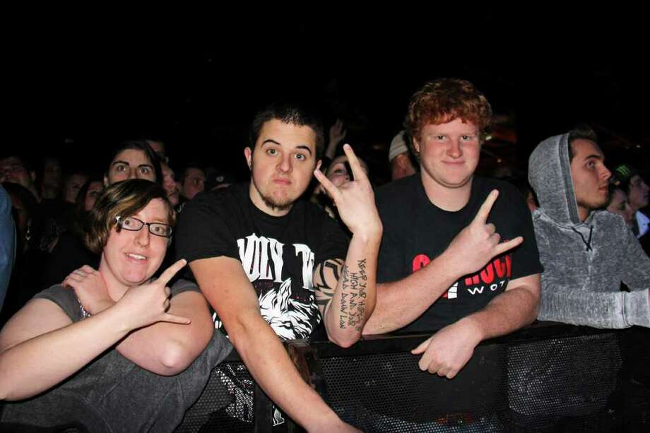 Were you Seen at the Thanksgiving Hangover Concert at the Washington Avenue Armory in Albany on Saturday, November 26, 2011? Photo: Brian Tromans