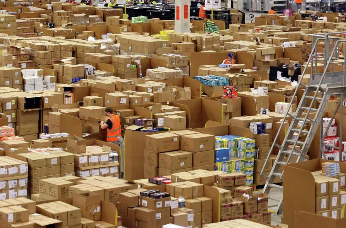 Amazon on Tuesday said its warehouses and distribution centers will only accept shipments of household staples and medical supplies that have been in high demand amid the coronavirus pandemic.