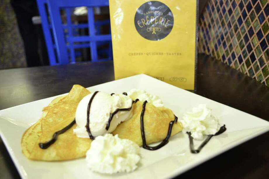 Caroline's Creperie offers classic crepes among its many menu items. Photo: Contributed Photo