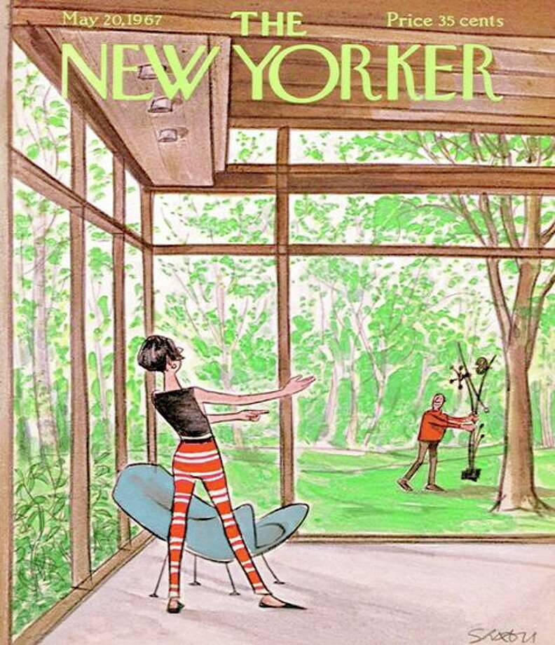 The New Yorker Glass House Puzzle (500 piece, $25) is a design store exclusive. Photo: Contributed Photo