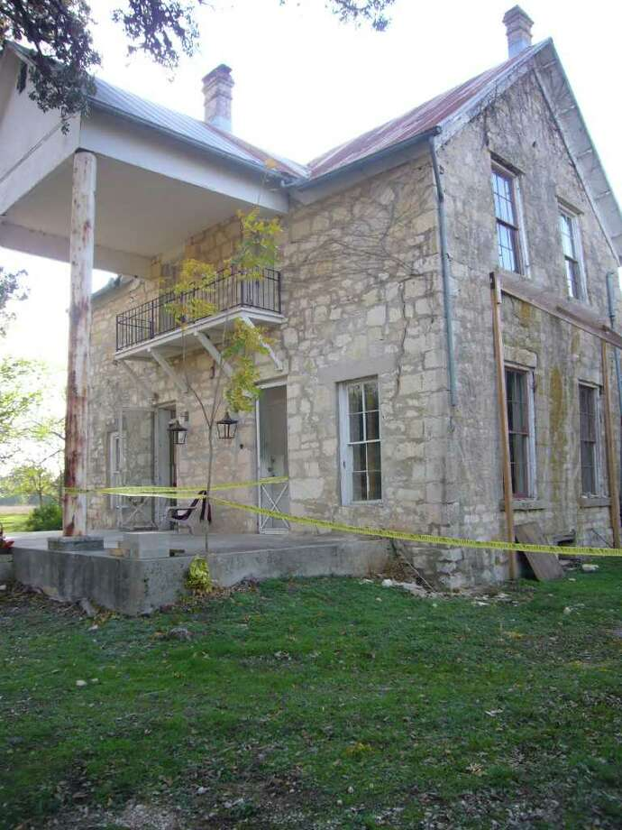 The historic 1883 Herff Farmhouse is being stabilized so that additional restoration can be accomplished as funding becomes available. Photo: Photo By Linda Byrne