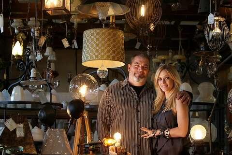 Antiques Repurposed As Lighting Sfgate