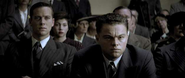 "Armie Hammer as Clyde Tolson and Leornardo DiCaprio as J. Edgar Hoover in Warner Bros. Pictures' drama ""J. Edgar."" Photo: Courtesy Of Warner Bros."