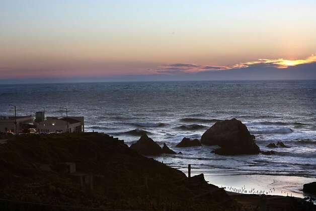 The Cliff house during sunset on November 10, 2011. Photo: Liz Hafalia, The Chronicle